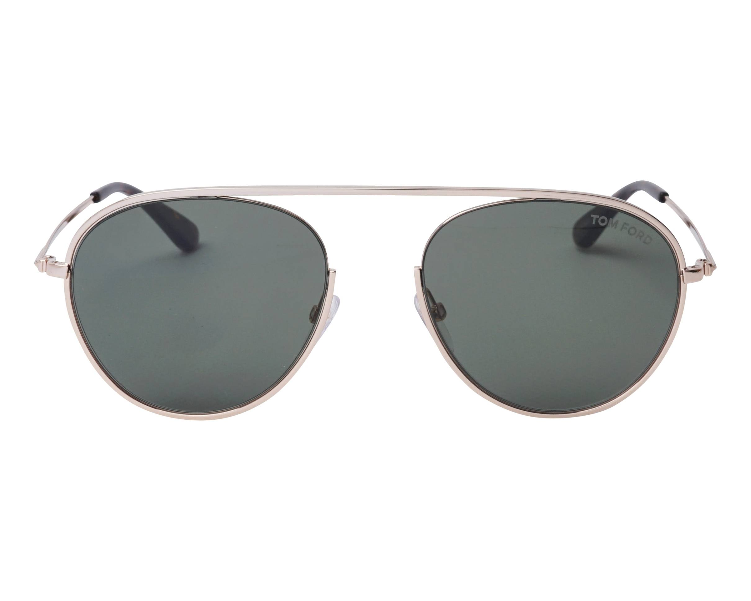 b56524b0af Sunglasses Tom Ford TF-0599 28N 55-19 Gold front view