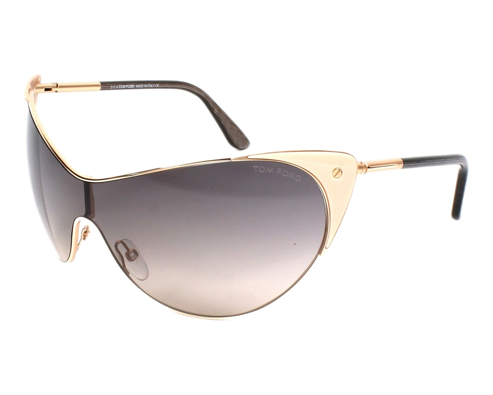 9412f5e44d3b Sunglasses Tom Ford TF-0364 74B - Gold Rosa profile view