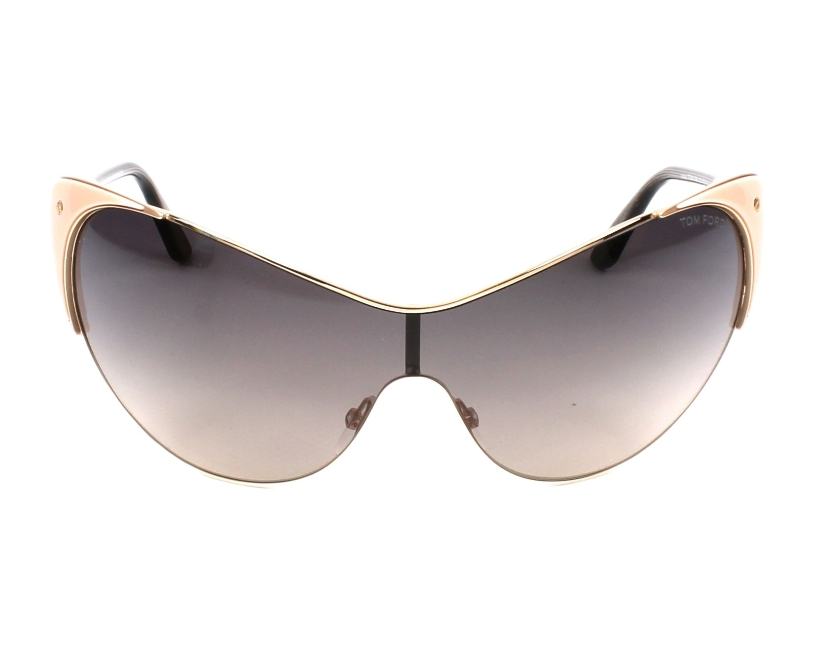 c6ff5788c066 Sunglasses Tom Ford TF-0364 74B - Gold Rosa front view