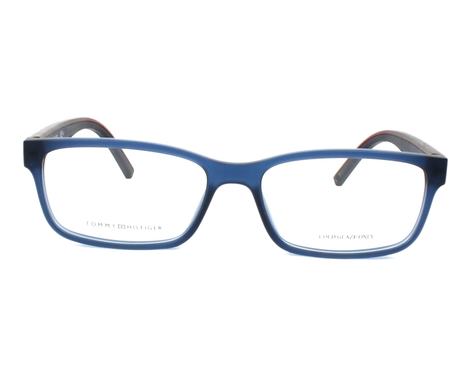 185650836b7 thumbnail eyeglasses Tommy Hilfiger TH-1495 PJP 54-16 Blue Blue front view