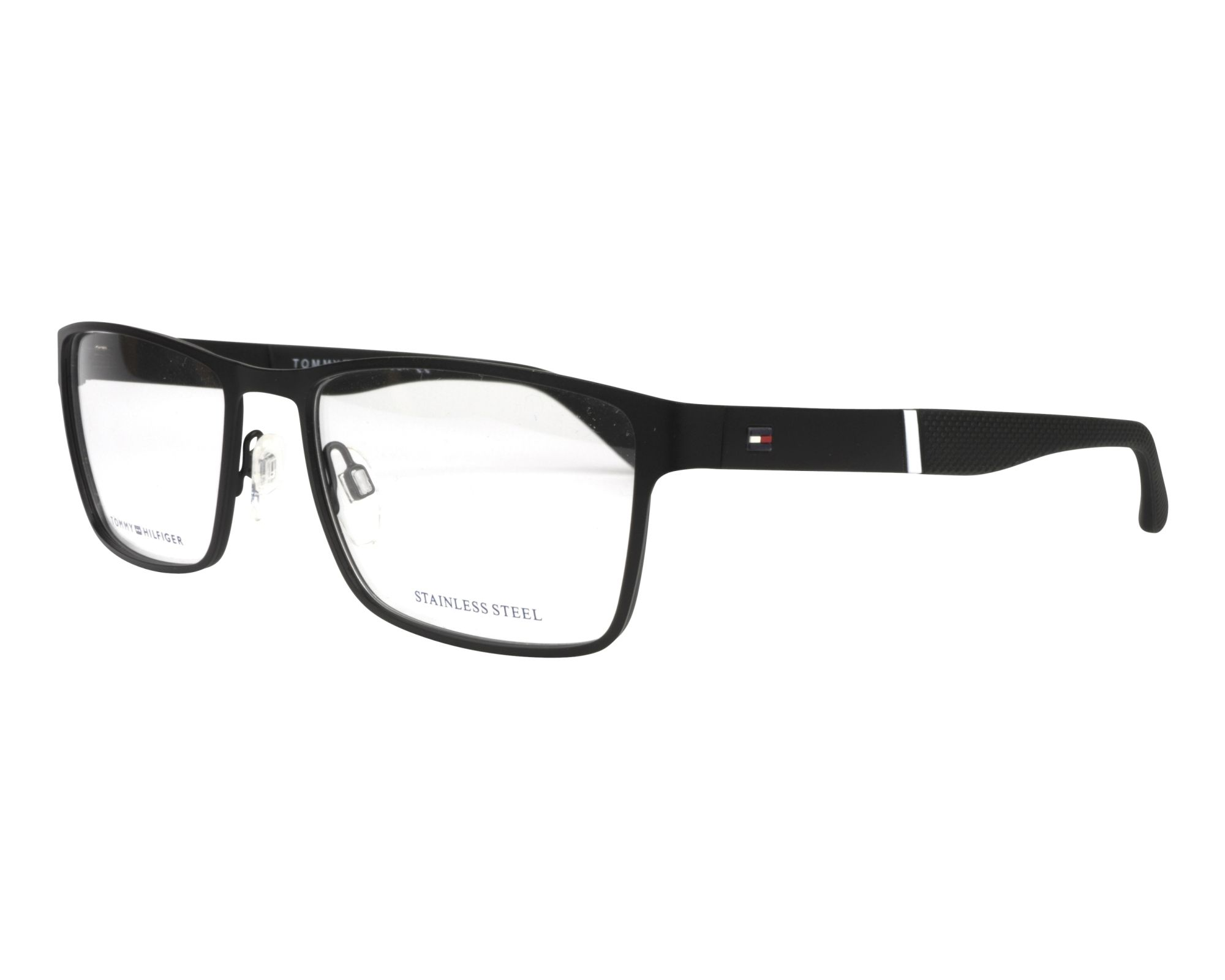 a5f0c274f3c eyeglasses Tommy Hilfiger TH-1543 003 56-18 Black profile view