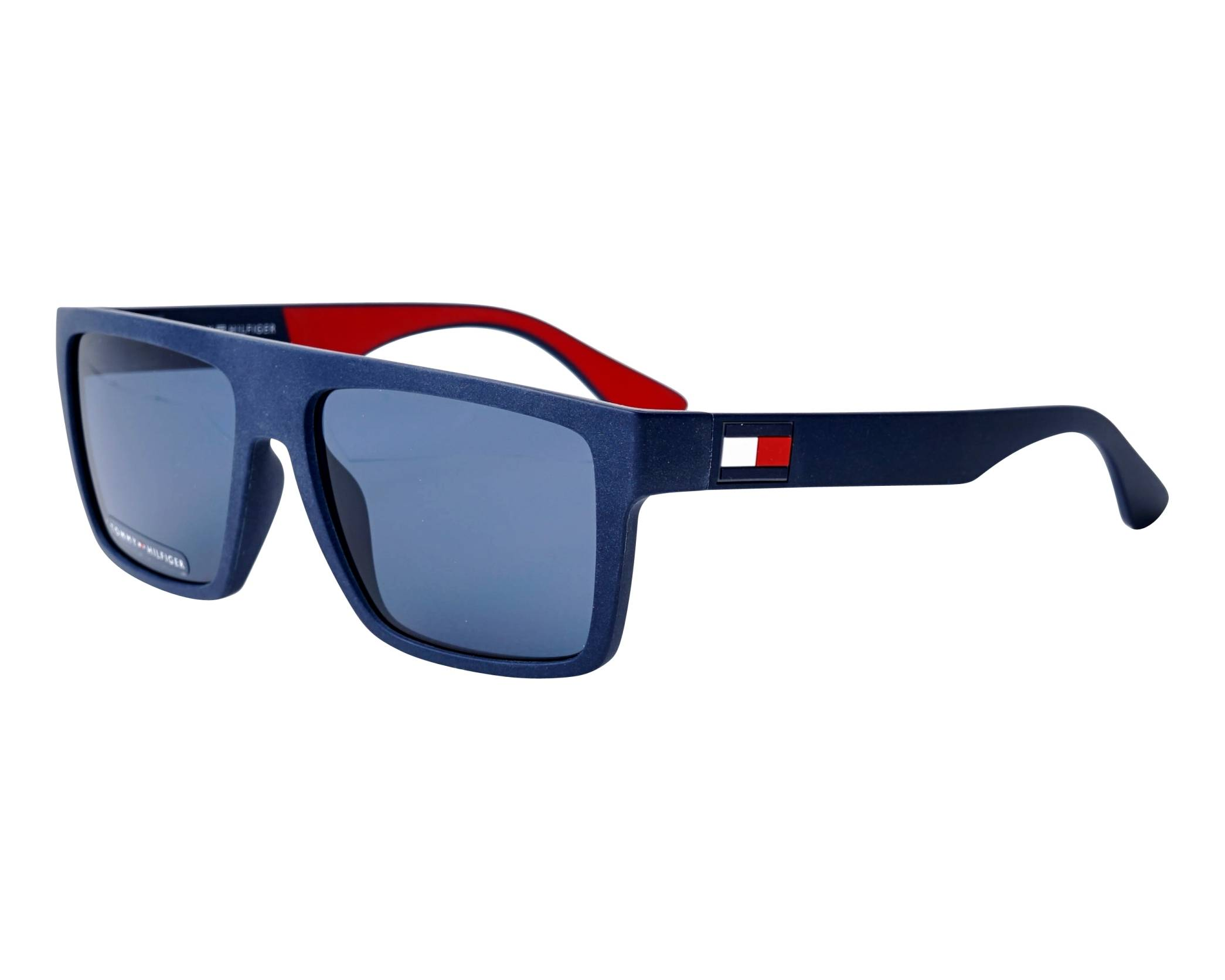 03603ed021eb Sunglasses Tommy Hilfiger TH-1605-S IPQKU 56-16 Blue Red profile view