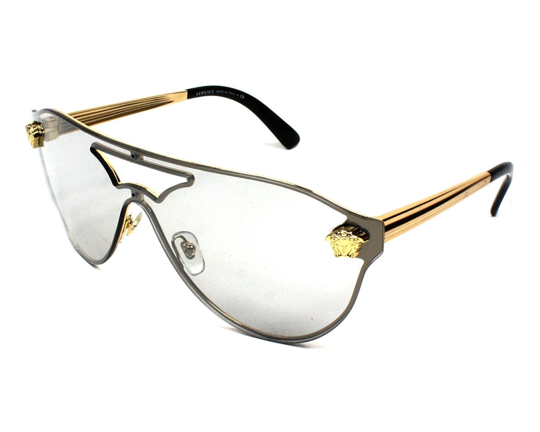 efad69008ac Sunglasses Versace VE-2161 1002 6G 99- Gold profile view