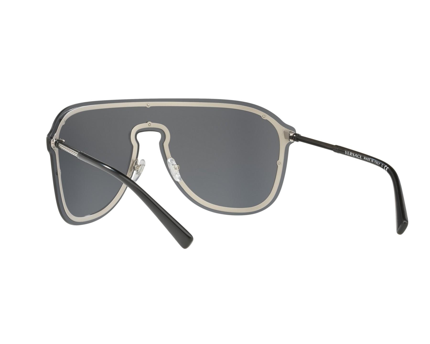 2616d2f655 Sunglasses Versace VE-2180 100087 44- Black 360 degree view 6