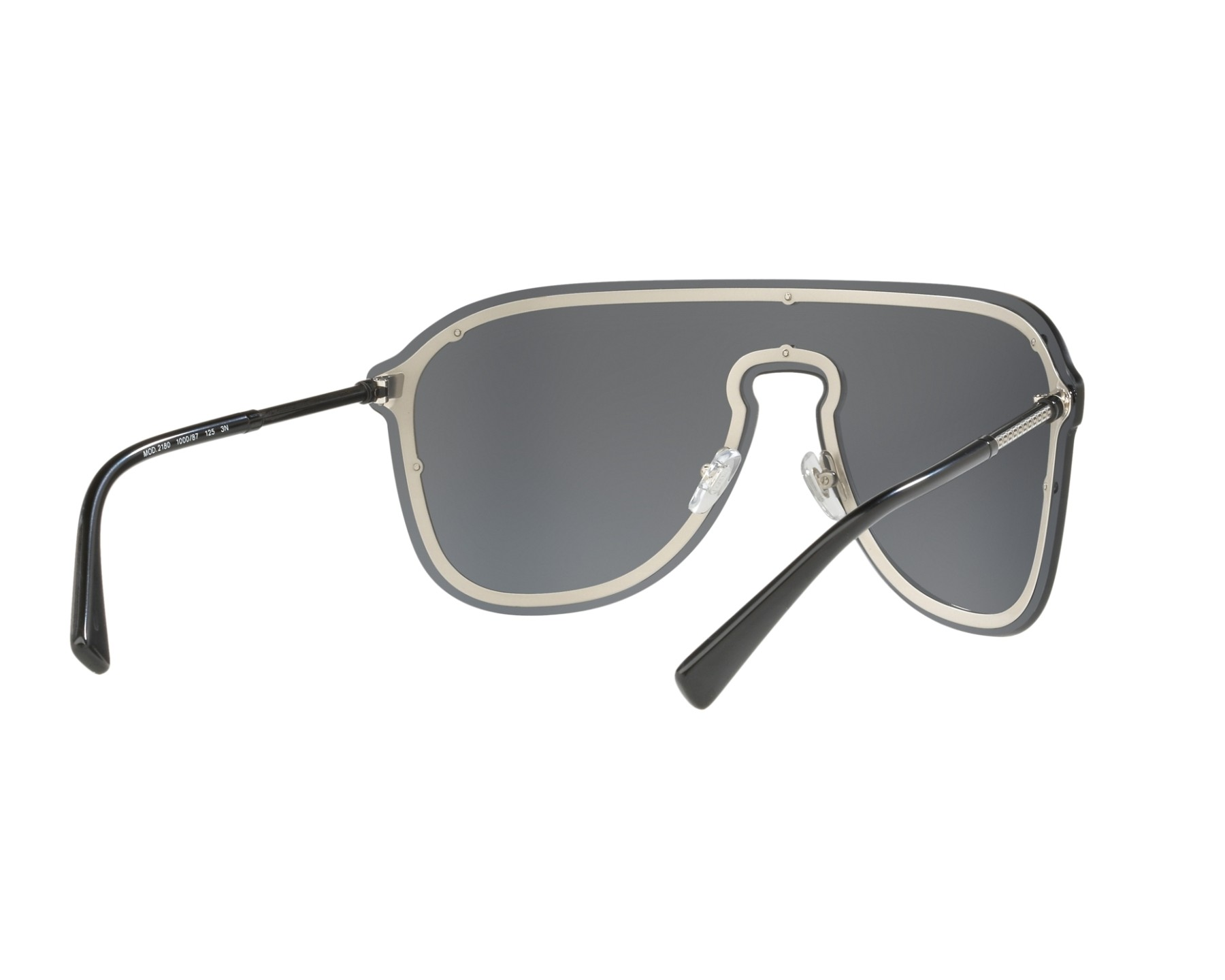 69c4835951 Sunglasses Versace VE-2180 100087 44- Black 360 degree view 8