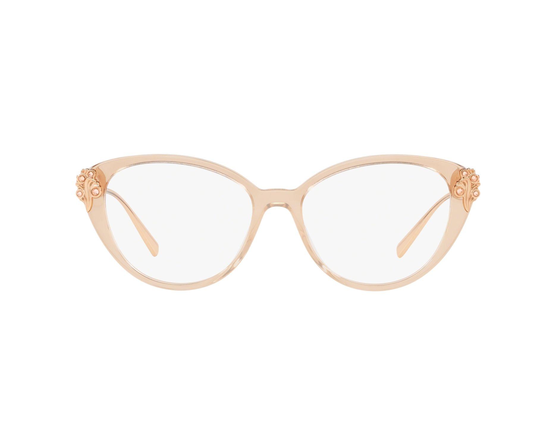 0d498fa06d78 eyeglasses Versace VE-3262-B 5215 - Rosa Gold Copper 360 degree view 1