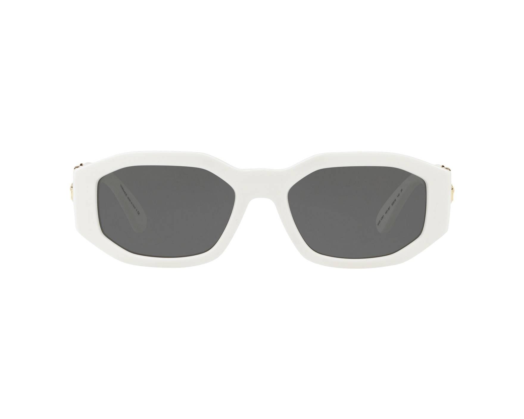 fadfb114ffad Sunglasses Versace VE-4361 401-87 53-18 White 360 degree view 1