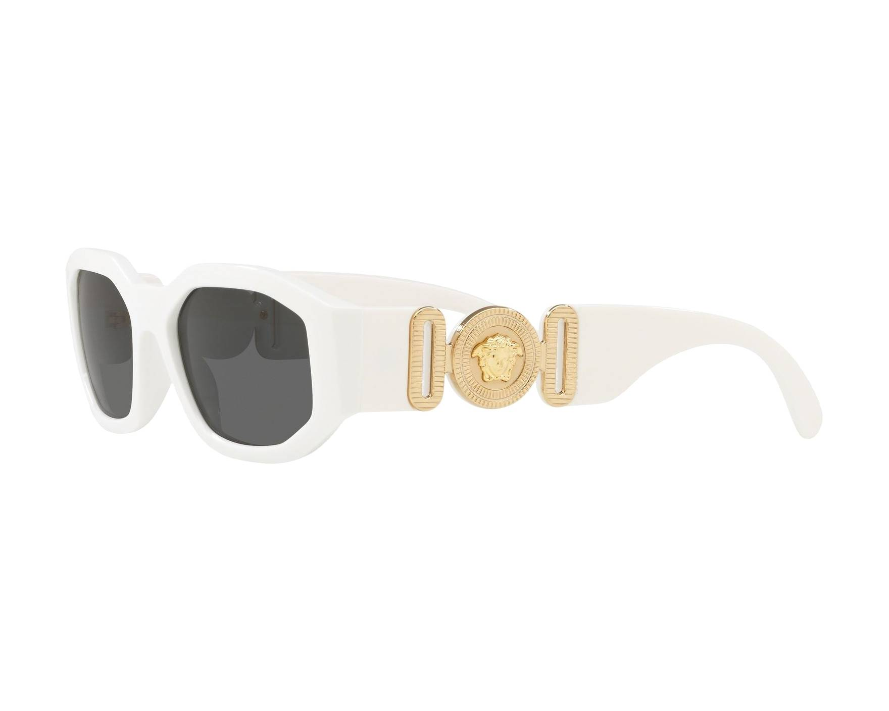 479a32367ea3d Sunglasses Versace VE-4361 401-87 53-18 White 360 degree view 3