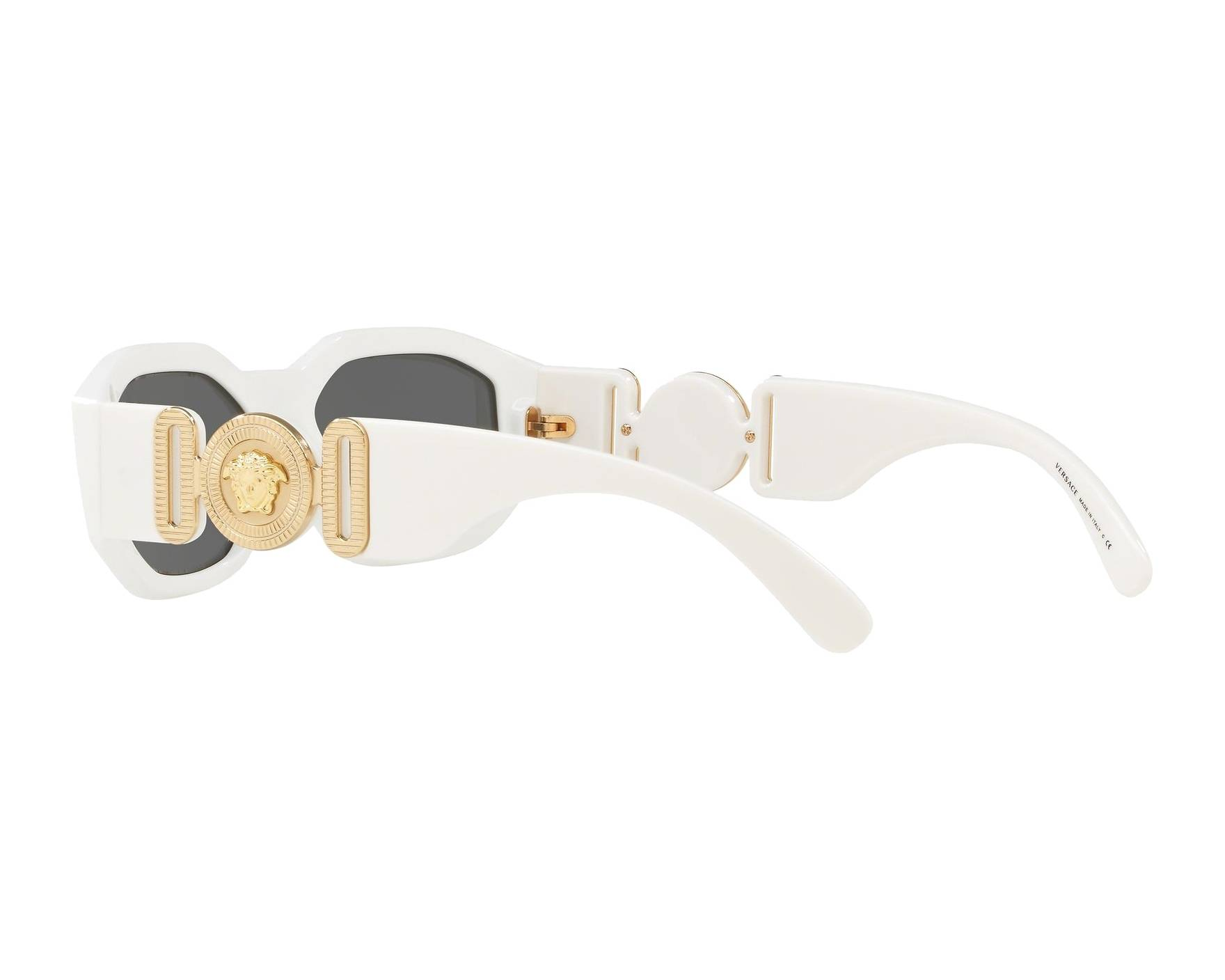 961f46c26734 Sunglasses Versace VE-4361 401-87 53-18 White 360 degree view 5