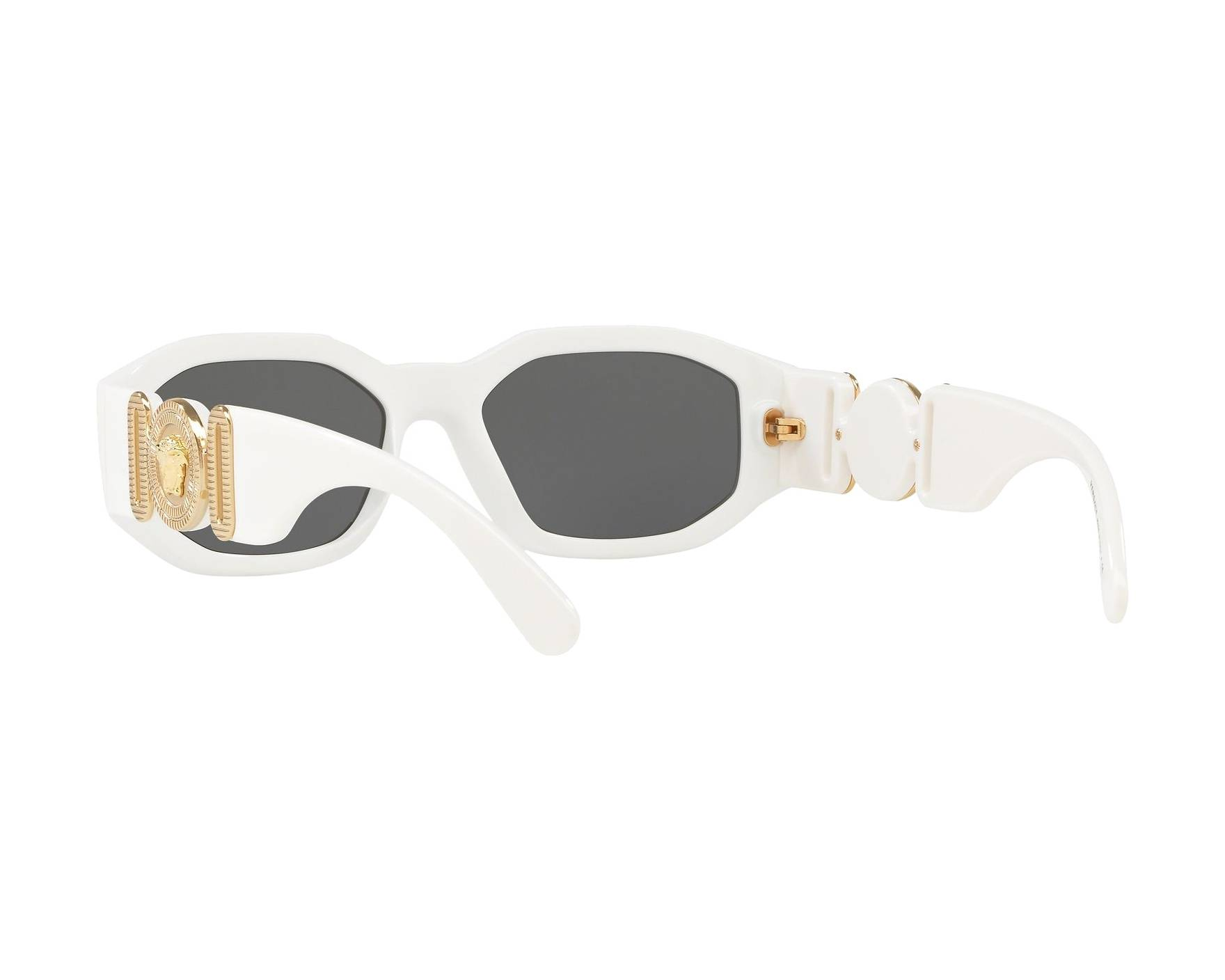 ecf3b3909fd2 Sunglasses Versace VE-4361 401-87 53-18 White 360 degree view 6