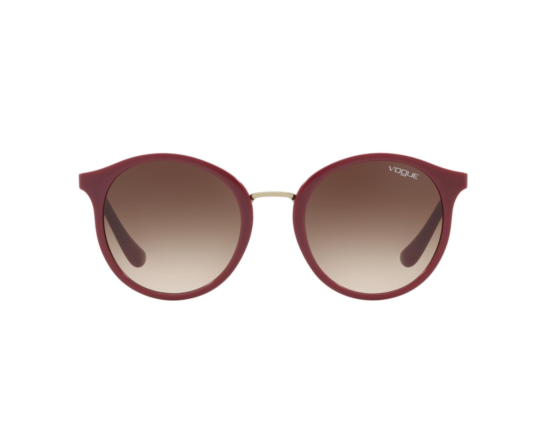 3aaf9e3a432 Sunglasses Vogue VO-5166-S 256613 - Bordeaux Gold 360 degree view 1