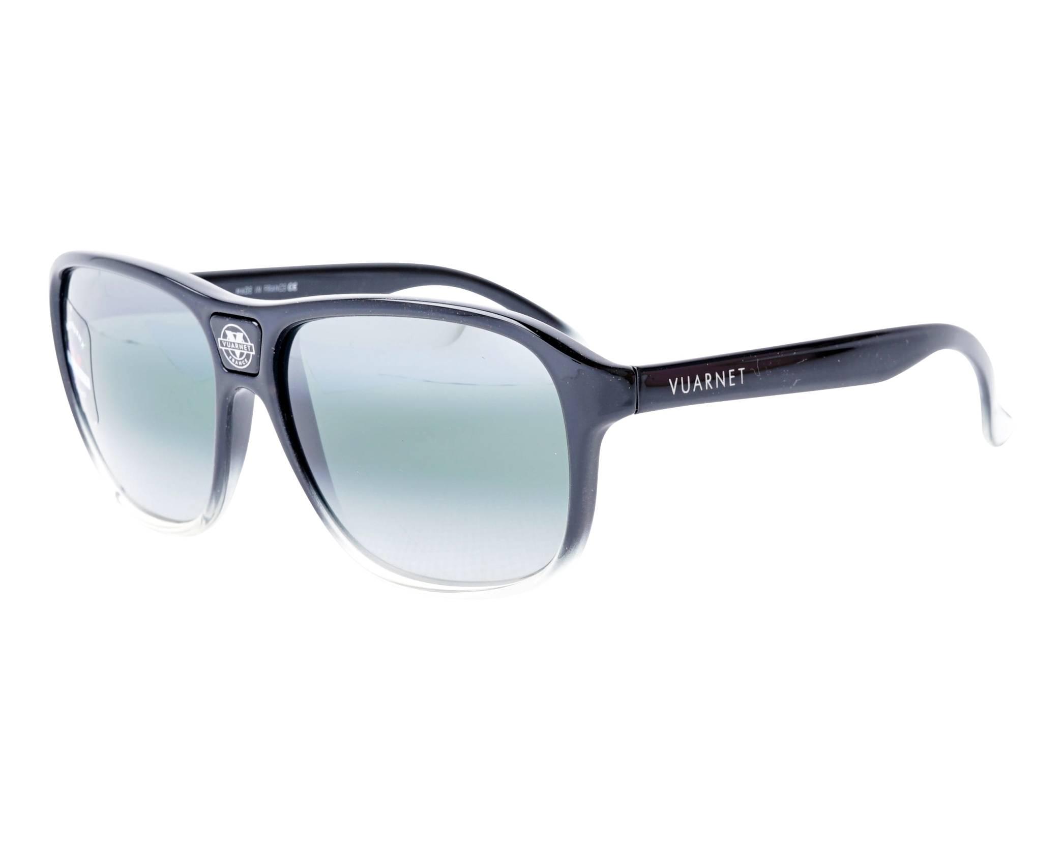 ccac03815b Sunglasses Vuarnet VL-0003 0009-1136 60-16 Black Crystal profile view