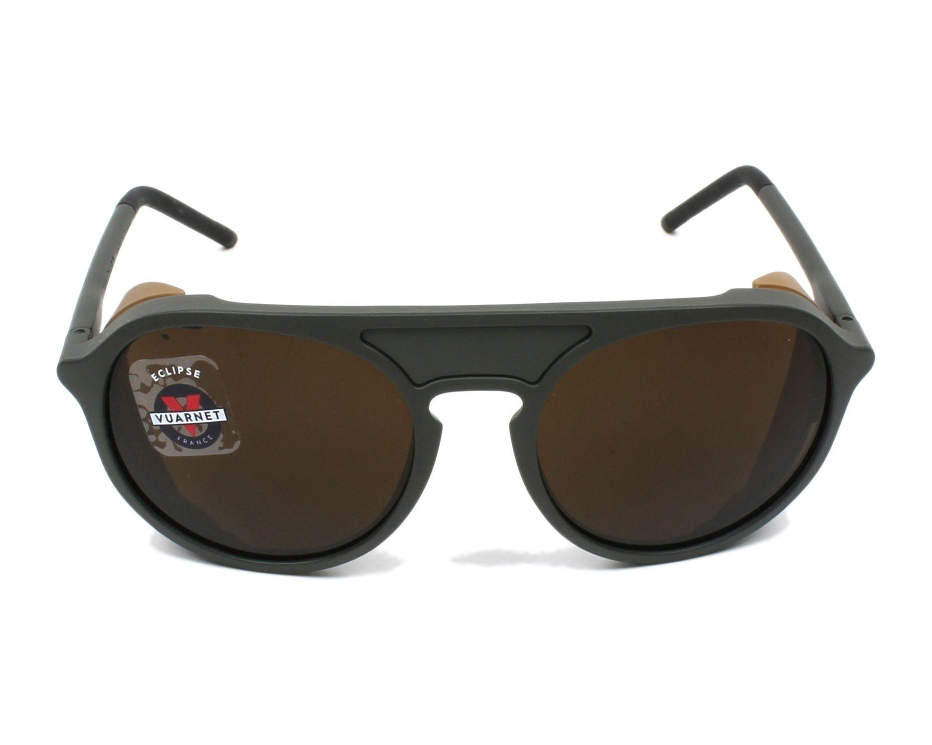 7e92c2b8fcf thumbnail Sunglasses Vuarnet VL-1709 0004-2182 51-18 Green front view