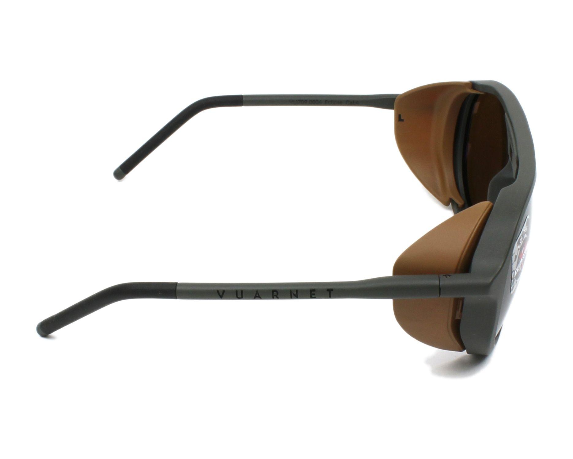 80dafa73c96 thumbnail Sunglasses Vuarnet VL-1709 0004-2182 51-18 Green side view