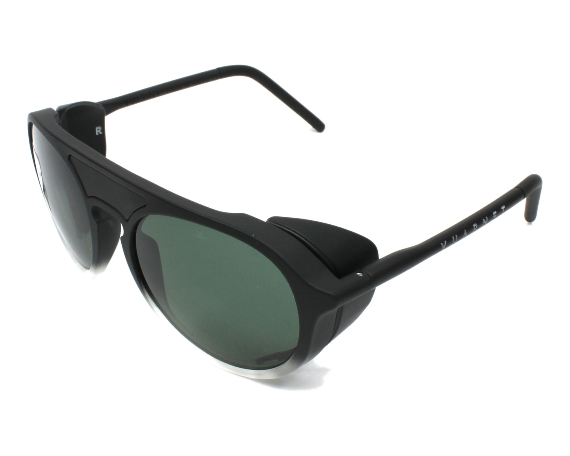 2cf1687e4fb Sunglasses Vuarnet VL-1709 0005-1622 51-18 Black Crystal profile view