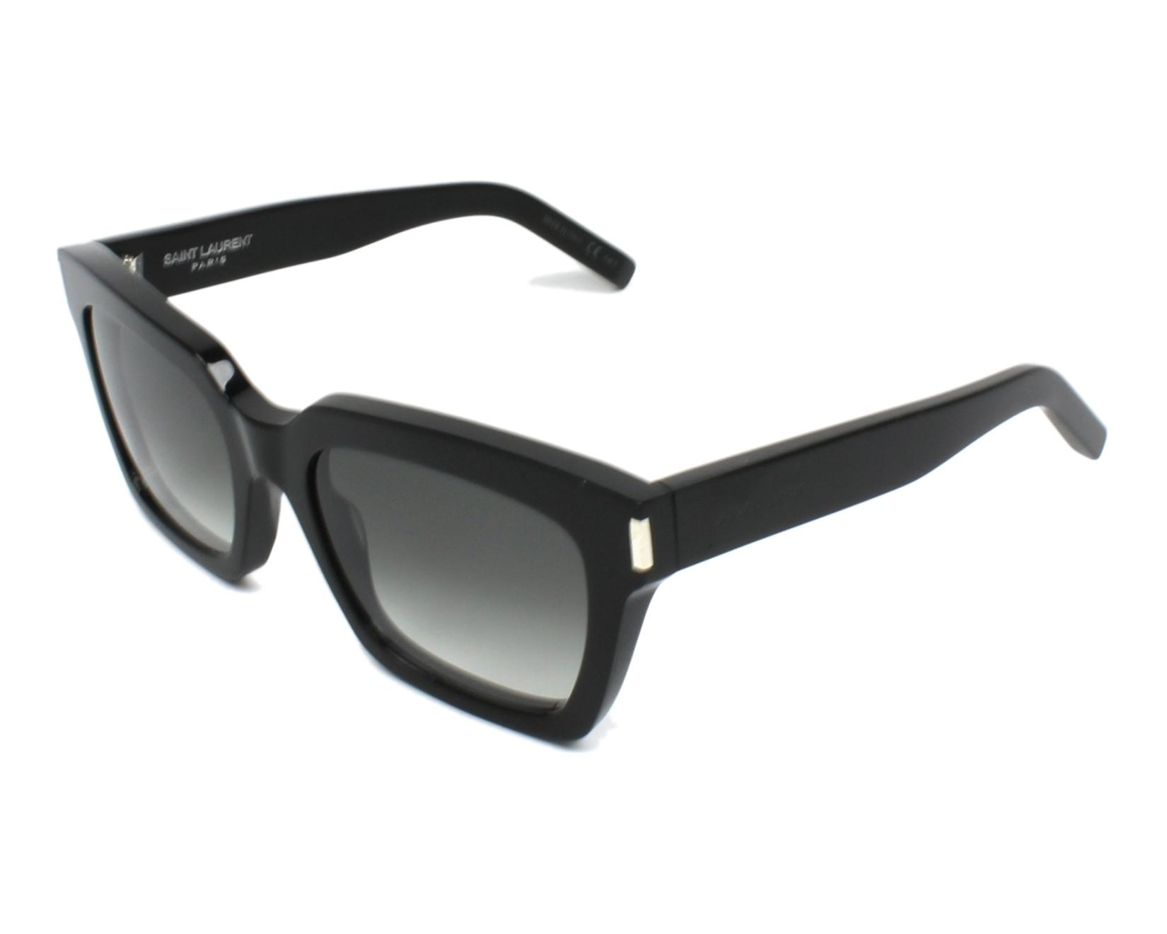 3765a8c08799fd Sunglasses Yves Saint Laurent BOLD-1 001 54-20 Black profile view
