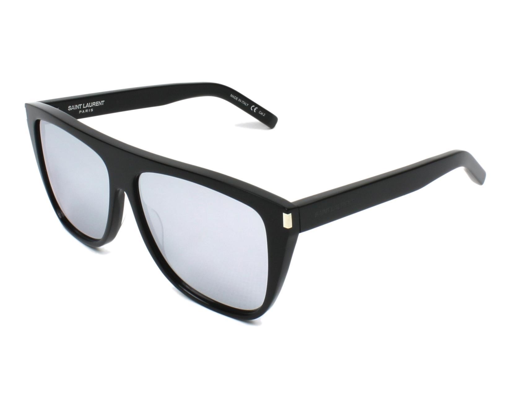 de4de8118c9c Sunglasses Yves Saint Laurent SL-1 008 59-13 Black profile view