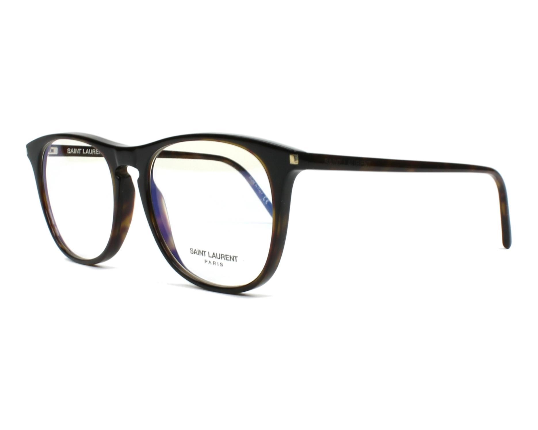 4fe669a9172 eyeglasses Yves Saint Laurent SL-146 002 - Havana profile view