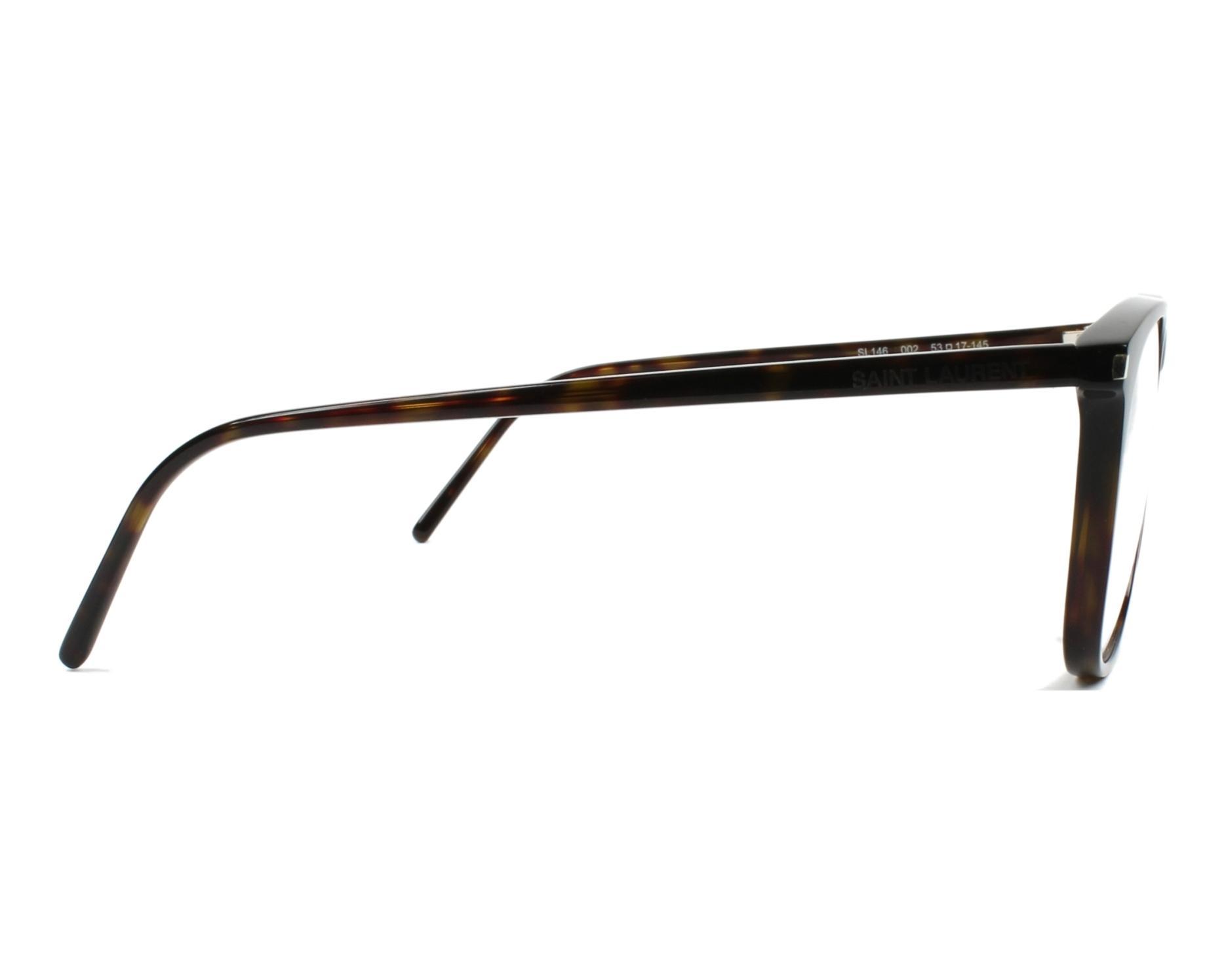 8b83250da1c eyeglasses Yves Saint Laurent SL-146 002 - Havana side view