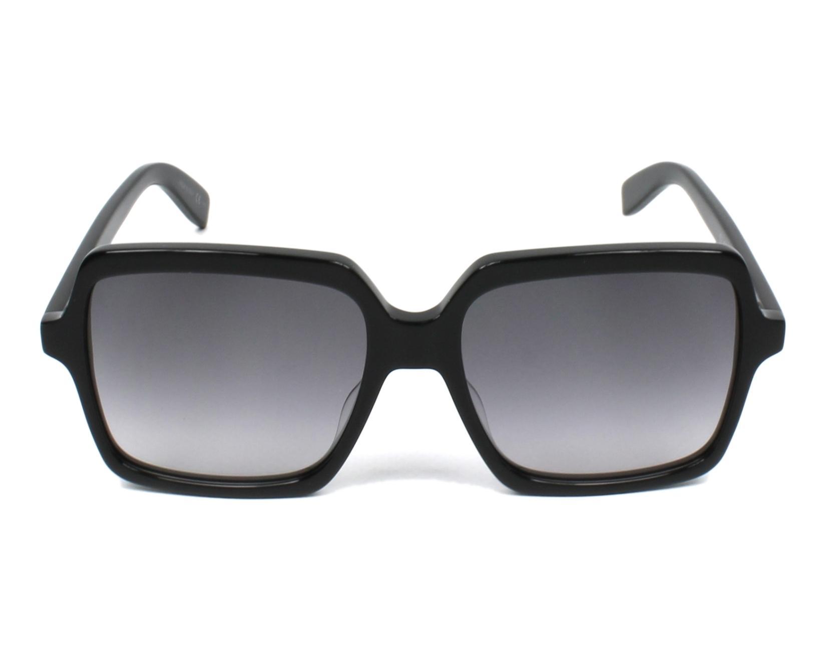 a938b922620 Sunglasses Yves Saint Laurent SL-174 001 56-17 Black front view