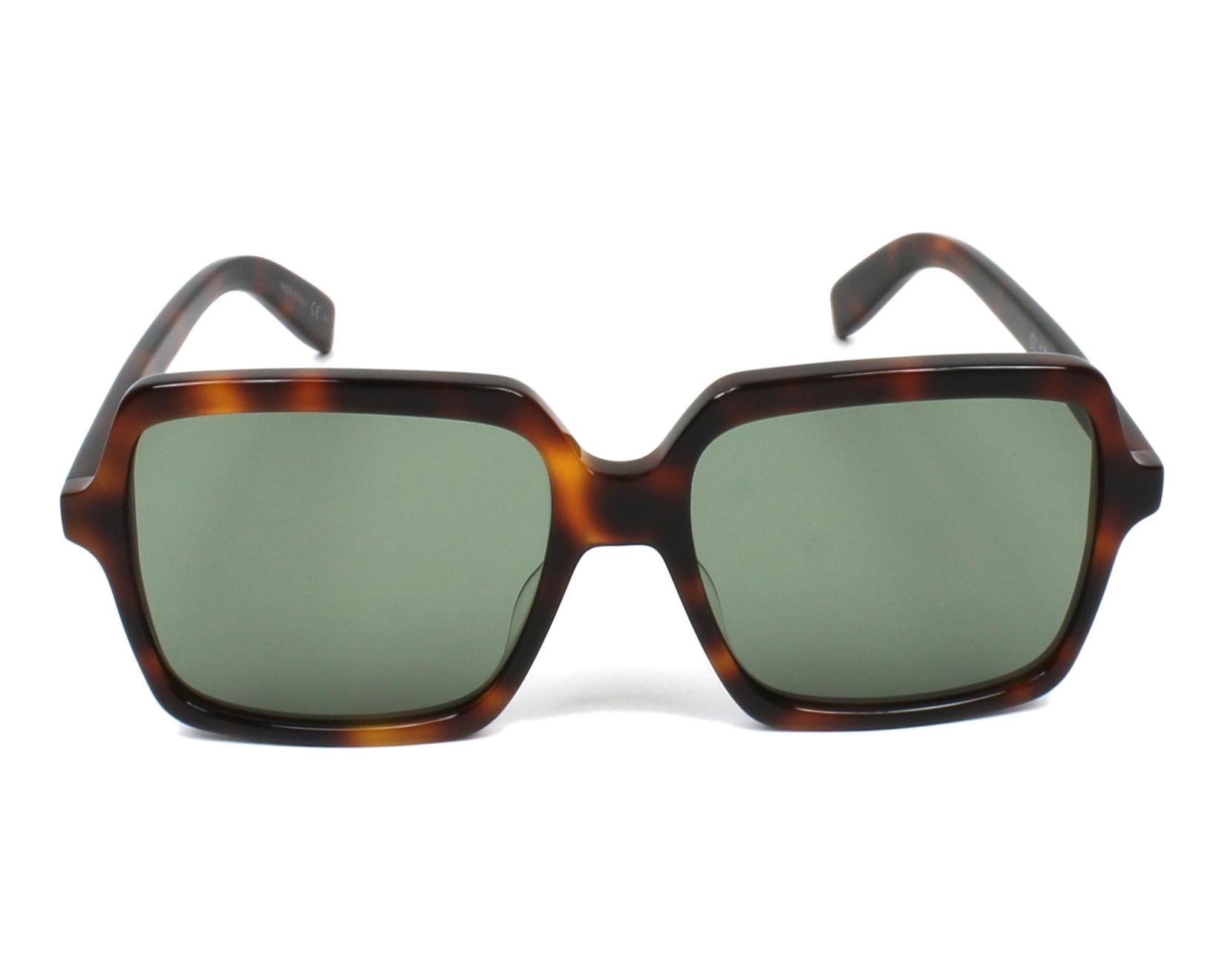 154a639c717 Sunglasses Yves Saint Laurent SL-174 002 56-17 Havana front view
